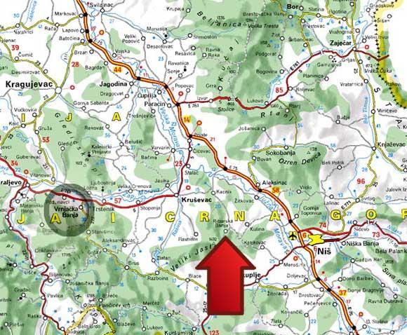 uvac srbija mapa Lepote Srbije • Forum Srbija uvac srbija mapa